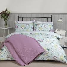 Pure Cotton Duvet Covers Abigail Duck Egg Pure Cotton Reversible Duvet Cover All Bedding