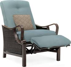 furniture home luxury resin wicker outdoor recliner chair