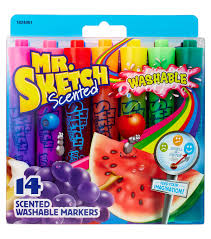 sanford mr sketch 14ct scented washable marker set chisel joann