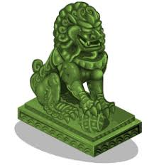 jade lion statue image jade lion statue 1 png here be monsters wiki fandom