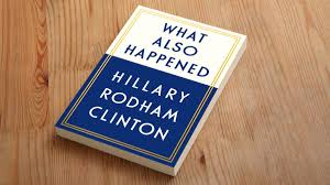 clinton already working on follow up book casting blame for