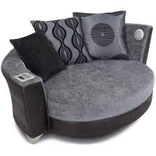 snuggle with sound with the dfs ipod trophy cuddler audio sofa