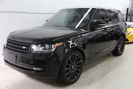 land rover black 2015 2015 range rover full size supercharged motion endeavours
