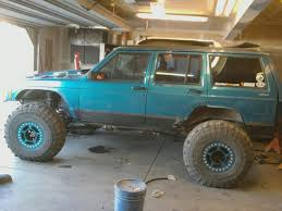 turquoise jeep project