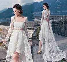 white lace plus size wedding dresses long sleeves keyhole back