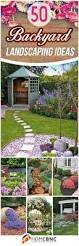 backyards impressive 50 backyard landscaping ideas that will