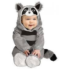 Infant Octopus Halloween Costume Baby Raccoon Costume Baby Halloween Fancy Dress Raccoon Costume
