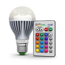 color changing light bulb with remote 9w led rgb color changing light bulb glow products canada