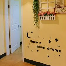 english words have a good dream diy wall stickers adornment glass english words have a good dream diy wall stickers adornment glass vinyl home wallpaper decor pegatinas de pared for kids room in wall stickers from home