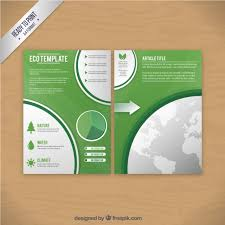 green brochure template 28 images best enticing green