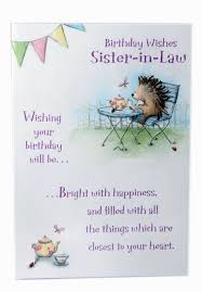 incredible birthday cards for sister in law picture best