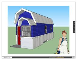 Tiny House Cartoon Tiny Green Cabins