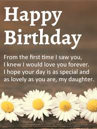 happy birthday to my amazing daughter you are my joy and the