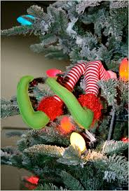 christmas elf legs christmas decorations from geny u0027s wholesale
