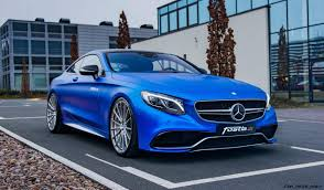 blue mercedes 2017 mercedes amg s63 coupe by fostla de is dripping blue chrome