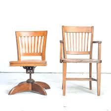 Oak Desk Furniture Vintage Oak Swivel Office Chair Vintage Wood Swivel Office Chair