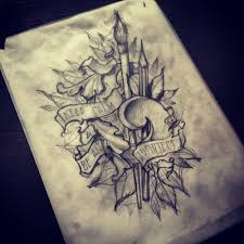 pencil sketch tattoo designs pictures to pin on pinterest tattooskid