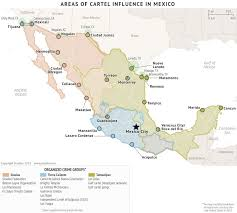 Mexico States Map Special Report Mexico U0027s Cartels Will Continue To Erode In 2016