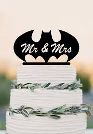 batman wedding cake toppers mr mrs wedding cake topper batman custom cake topper wedding