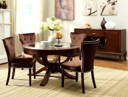 Glass Round Dining Table For - Glass round dining room tables
