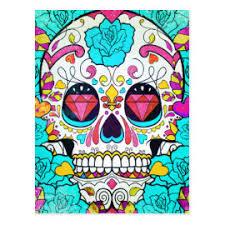 sugar skull designs pretty pattern gifts