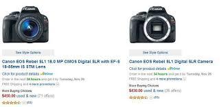 canon t6i black friday canon 100d new camera