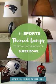 6 american football themed lamps in honor of super bowl i like