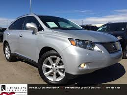 lexus rx 350 used chicago pre owned silver 2010 lexus rx 350 awd touring package review