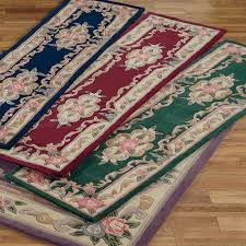 Corner Runner Rug Aubusson Rugs Touch Of Class