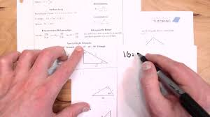30 60 90 Triangles Worksheet Special Right Triangles Worksheets Youtube
