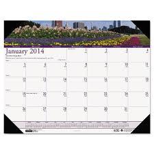 desk pad calendar 2018 gardens of the world monthly photo desk pad calendar ultimate office