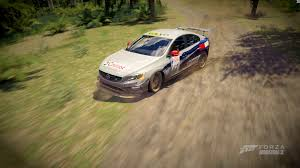 volvo s60 super 2000 rallye design paint booth forza