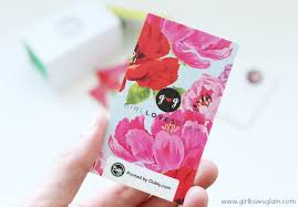 floral business card my pretty business cards glam