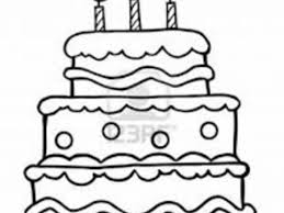 printable birthday cake coloring page 28 images free printable