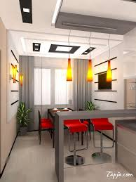 kitchen captivating kitchen design layout ideas kitchen design amazing small kitchen with bar design and orange pendant lamps also gray table