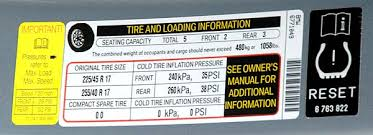 2005 toyota corolla tire pressure what is the recommended tire pressure for tires doc s