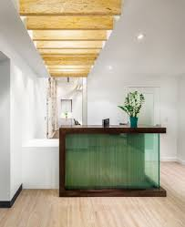 Reception Desk Sydney by I Like The Use Of Wood Beams On Ceiling Idea For Front Office And