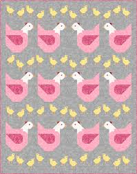 K Henblock L Sew Fresh Quilts Mama Chicken 12