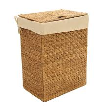 Unique Laundry Hampers by Amazon Com Seville Classics Foldable Water Hyacinth Portable