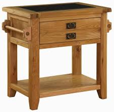 buy vancouver premium oak kitchen island unit small granite top