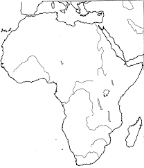 africa map drawing south africa political map tearing blank eaglee me