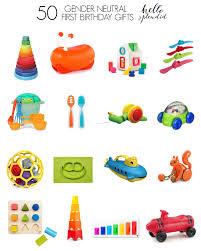 boy 1st birthday ideas 50 gender neutral birthday gifts hello splendid