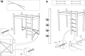 How To Assemble A Bed Frame Ikea Lo Bunk Bed Frame Assembly For Free
