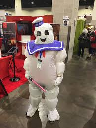 stay puft marshmallow man halloween costume swamp thing jason harris promotions