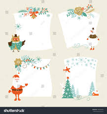 christmas banners place your text holiday stock vector 158484878