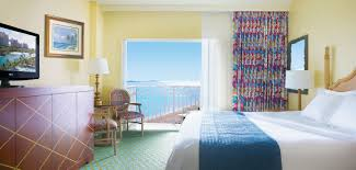 guest rooms at the beach tower atlantis paradise island resort