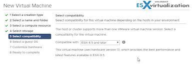 install windows 10 esxi 5 5 performance optimized vm of windows server 2016 on esxi 6 5 creation