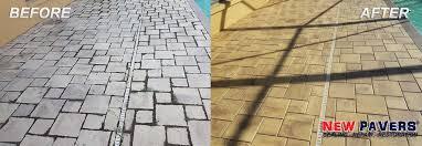Brick Pavers Pictures by Brick Paver Sealing Tampa New Paver Tampa Repair U0026 Restoration