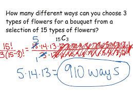 showme math combinations third grade