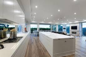calgary hardwood flooring living room modern with black leather
